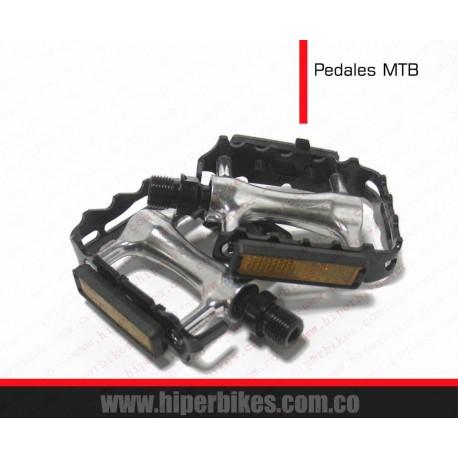 PEDALES MTB Aluminio