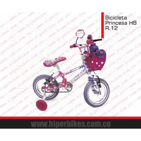 Bicicleta Niña Princesa  Rin 12 Bogotá
