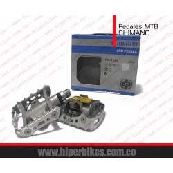 PEDALES MTB Aluminio SHIMANO