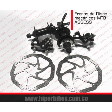 Frenos de Disco  MTB ASSESS Mécanicos