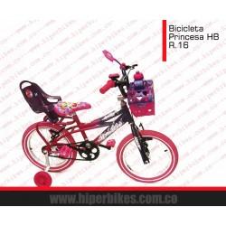 Bicicleta Niña HiperBikes  Rin 16