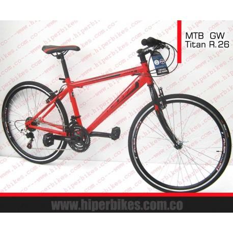 Bicicleta  GW TODOTERRENO Titán Rin 26  Bogotá