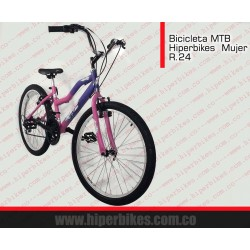 Bicicleta TODOTERRENO  NIÑA Rin 24/26  Bogotá