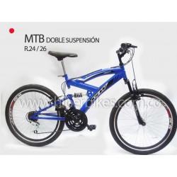 Bicicleta TODOTERRENO GW DOBLE SUSPENSIÓN Rin 26  Bogotá
