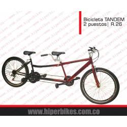 Bicicleta TODOTERRENO  DOBLE PUESTO  Rin 26  Bogotá