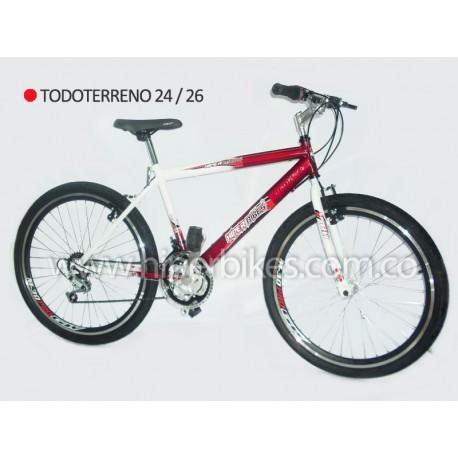 Bicicleta TODOTERRENO ALUMINIO Rin 26  Bogotá