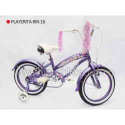 Bicicleta Niña Playerita GW   Rin 16 Bogotá