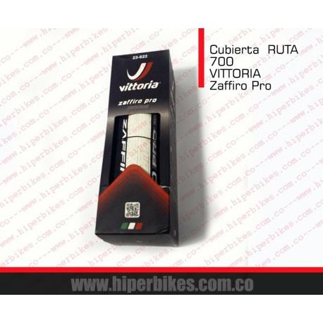 Llanta - Cubierta RUTA VITTORIA 700 ZAFIRO PRO