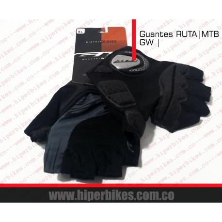 GUANTES  CORTOS CICLISMO  - RUTA -MTB  GW I
