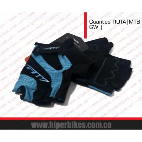 GUANTES  CORTOS CICLISMO  - RUTA -MTB  GW III