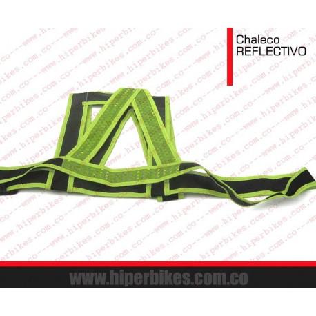CHALECO REFLECTIVO PARA CICLISTA