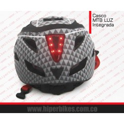 CASCO CLIFF LUZ INTEGRADA  MTB