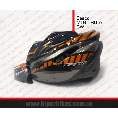CASCO  GW  MTB - RUTA