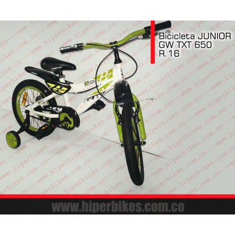 Bicicleta Niño GW TXT  Rin 16 Bogotá
