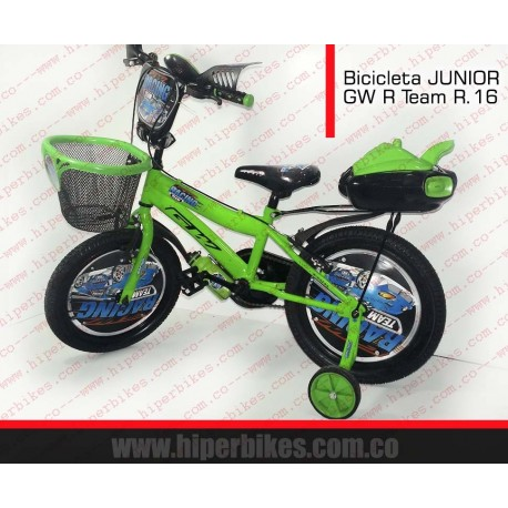 Bicicleta Niño GW  R TIME  Rin 16 Bogotá