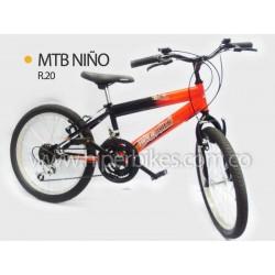Bicicleta Niño TODOTERRENO  Rin 20 Bogotá