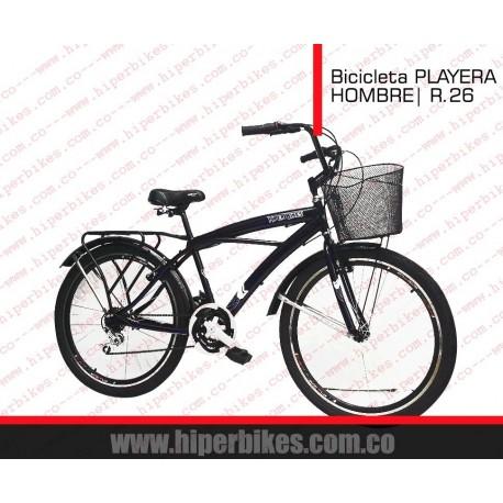 Bicicleta PLAYERA  HOMBRE - URBANA Rin 26 - 24  Bogotá